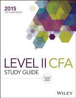 Wiley Study Guide for 2015 Level II CFA Exam  Complete Set PDF