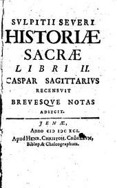 Svlpitii Severi Historiae Sacrae Libri II
