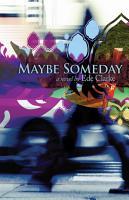 Maybe Someday  A Novel PDF