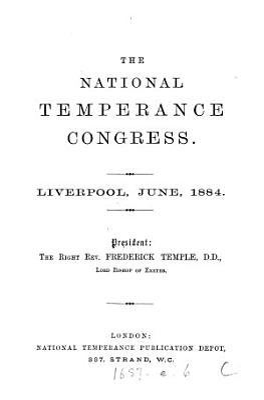 The National Temperance Congress PDF