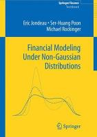 Financial Modeling Under Non Gaussian Distributions PDF