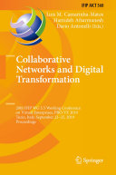 Collaborative Networks and Digital Transformation