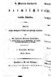Dr. Martin Luther's sämmtliche Werke: Band 53