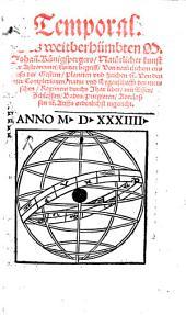 Temporal: Natürliche Kunst der Astronomei