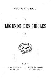 La légende des siècles: Volume4