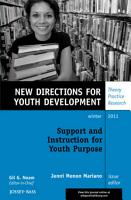 Support and Instruction for Youth Purpose PDF