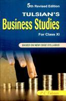Tulsian s Business Studies Xi PDF