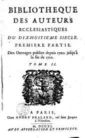 Bibliothèque des auteurs ecclesiastiques du XVIIIe siècle: Volume 2