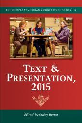 Text & Presentation, 2015