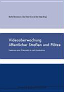 Video  berwachung   ffentlicher Stra  en und Pl  tze PDF