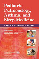 Pediatric Pulmonology, Asthma, and Sleep Medicine