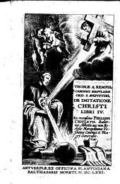 De Imitatione Christi libri IV
