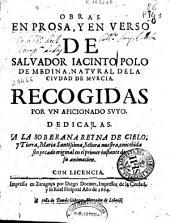 Obras en prosa, y en verso de Salvador Iacinto Polo de Medina, ...