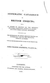 A Systematic Catalogue of British Insects
