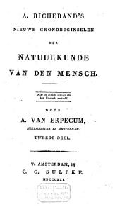 A. Richerand's Nieuwe grondbeginselen der natuurkunde van den mensch