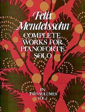 Complete Works for Pianoforte Solo