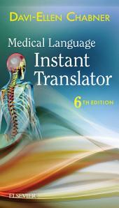 Medical Language Instant Translator -- E-Book: Edition 6