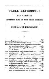 JOURNAL DE PHARMACIE