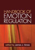 Handbook of Emotion Regulation  First Edition PDF