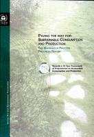 Paving the Way for Sustainable Consumption and Production  The Marrakech Process Progress Report PDF