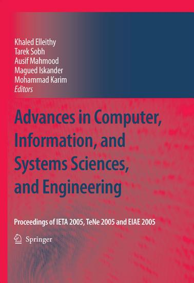 Advances in Computer  Information  and Systems Sciences  and Engineering PDF