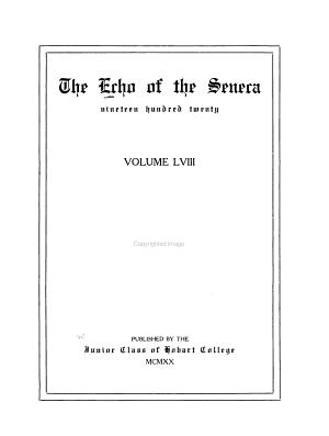 The Echo of the Seneca PDF