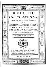 Encyclopédie ou dictionnaire raisonné des sciences des arts et des métiers: Volume 38