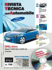 Manuale di riparazione Opel Astra H: 1.7 CDTi e 1.9 CDTi - RTA188