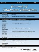 Journal of Character Education PDF