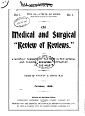 Medical Review: Volume 1