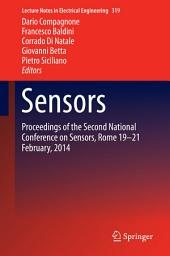 Sensors: Proceedings of the Second National Conference on Sensors, Rome 19-21 February, 2014