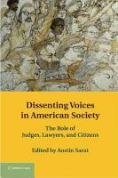 Dissenting Voices in American Society PDF