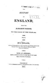 The history of England: from the earliest period, to the close of the year 1812, Volume 2