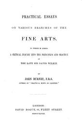 Practical Essays on Various Branches of the Fine Arts: To which is Added, a Critical Inquiry Into the Principles and Practice of the Late Sir David Wilkie