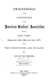 Proceedings of the ... Annual Convention of the American Bankers' Association: Volume 3