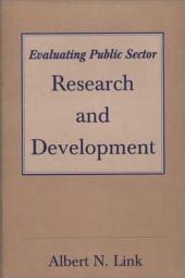 Evaluating Public Sector Research and Development