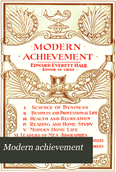 Modern Achievement: Volume 1