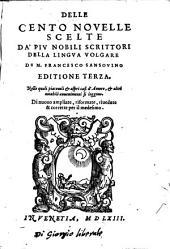 Cento novelle scelte da piu nobili scrittori della lingua volgare