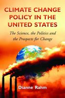 Climate Change Policy in the United States PDF