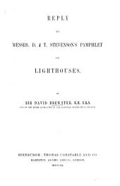 Reply to messrs. D. & T. Stevenson's pamphlet on Lighthouses