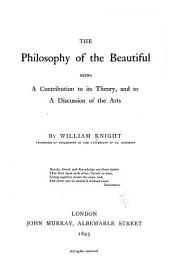 The philosophy of the beautiful: Volume 2