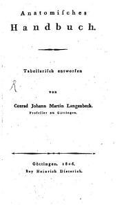 Anatomisches Handbuch