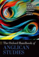 The Oxford Handbook of Anglican Studies PDF