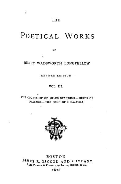Download The Complete Works of Henry Wadsworth Longfellow  The golden legend Book