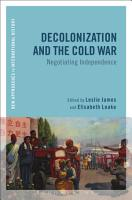 Decolonization and the Cold War PDF