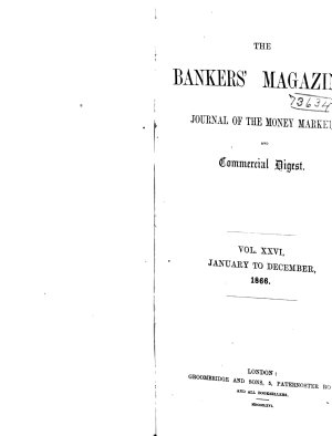 The Bankers  Magazine PDF