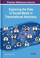 Exploring the Role of Social Media in Transnational Advocacy PDF