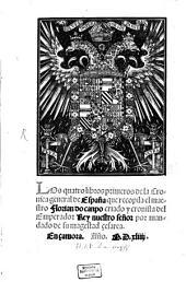 Los quatro libros primeros de la Cronica general de España
