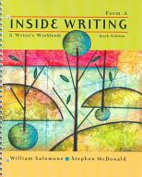 Inside Writing  A Writer s Workbook  Form A PDF