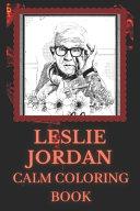 Leslie Jordan Calm Coloring Book